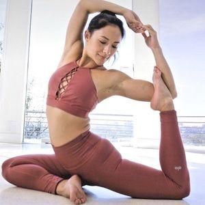 ALO yoga high waist tech lift Earth leggings S